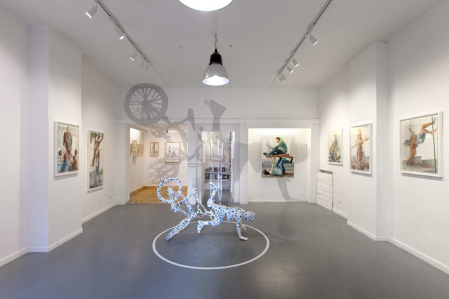 The Backwaters, stories from endless Suburbia - Fintan Magee solo-show