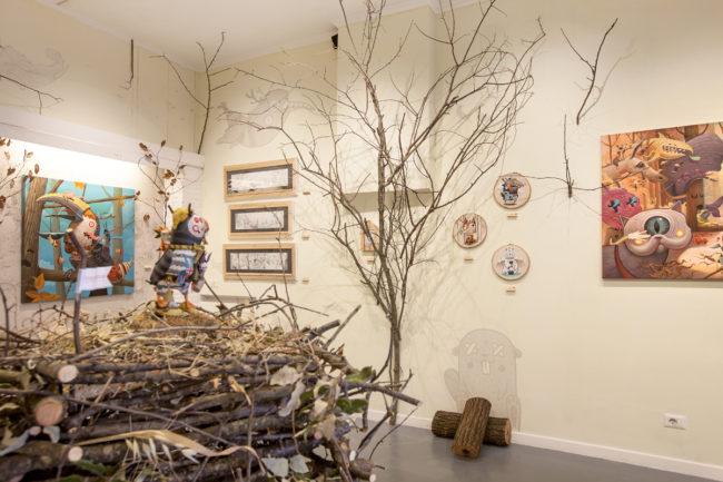 broken thoughts art exhibition by dulk