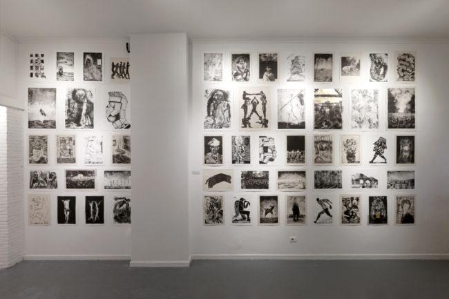 colera art exhibition
