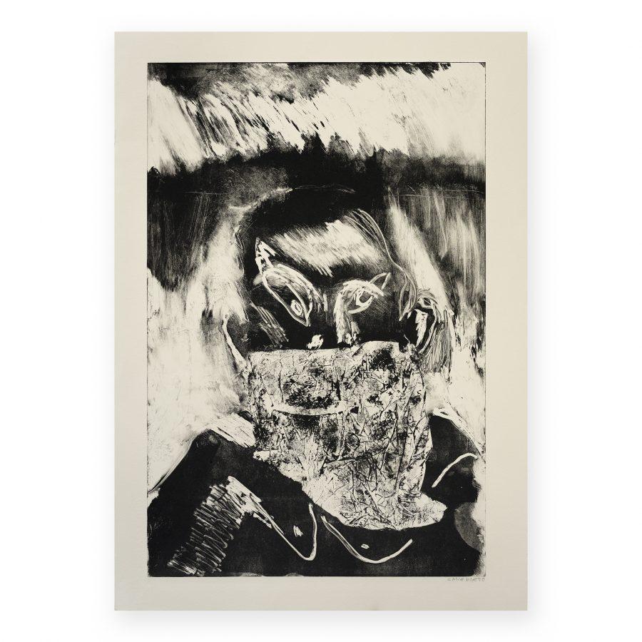 Canemorto -Uomo con bandana e fuoco