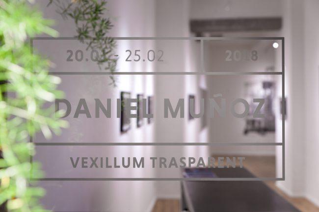 Vexillum Transparent - Daniel Muñoz (San) solo-show