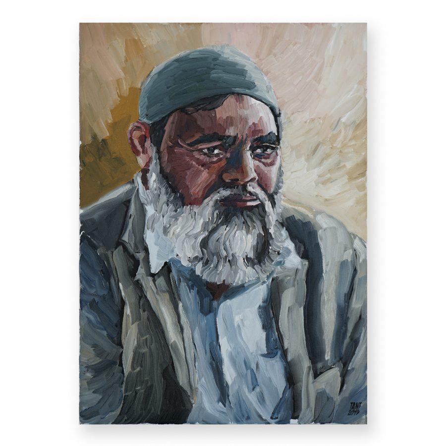 TANT (BROKEN FINGAZ)-Portrait of Sajio Husein
