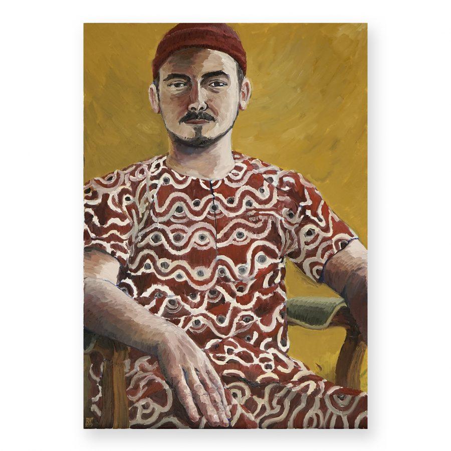 TANT (BROKEN FINGAZ)-Portrait of Denis Molewa