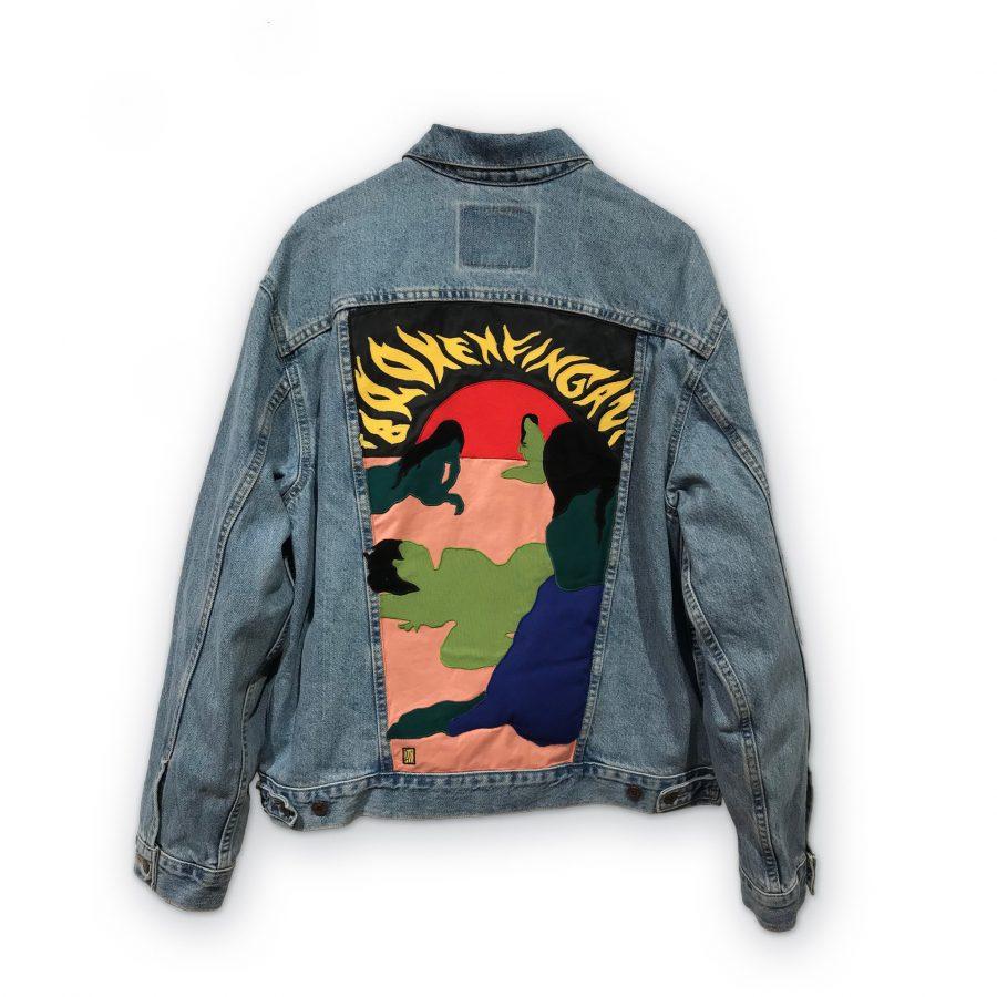 Broken Fingaz_Black jacket