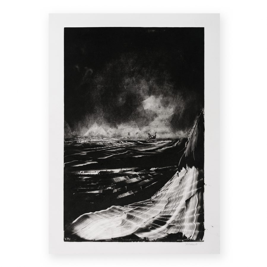 Servadio -Storm at the sea