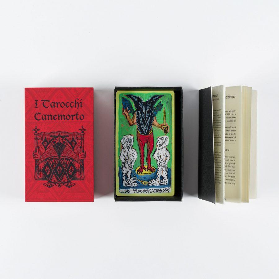 CANEMORTO - Il Mazzo dei Tarocchi Canemorto / Cards Box
