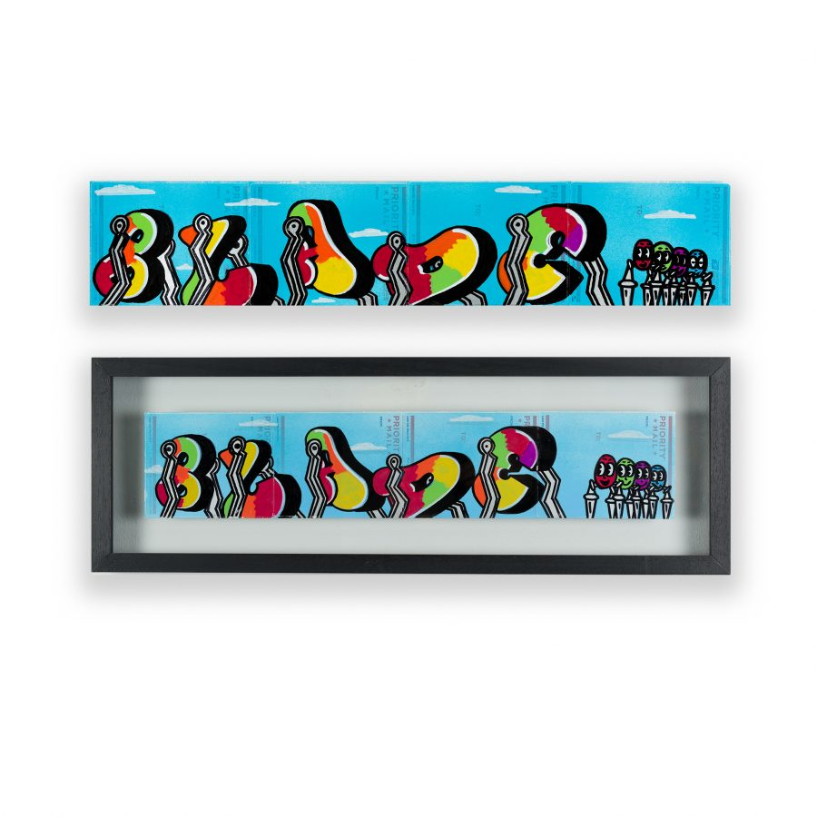 BLADE - SWINGING LETTERS (Subway Art Centerfold)