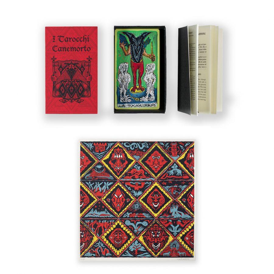 CANEMORTO - Il Mazzo dei tarocchi Canemorto + Txakurra Codex print