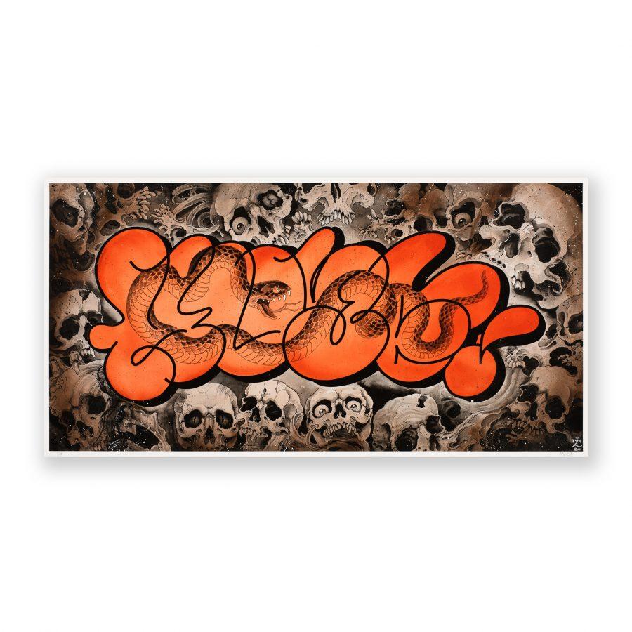 LUCA MAMONE / SCARFUL / LUCAMALEONTE / LEONARDO CRUDI X HUBE - Art for Savages series
